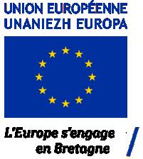 L'Europe s'engage en Bretagne. Avec le Fonds Européen agricole pour le développement rural : l'Europe investit dans les zones rurales