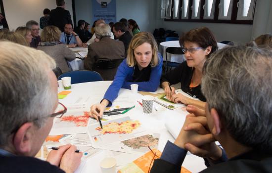 Carrefour des transitions, 9 mars 2017, Saint Malo Ambiance lors des ateliers participatifs
